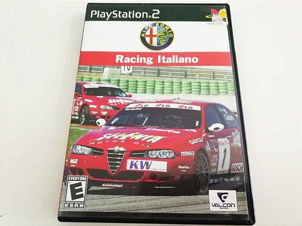 Alfa Romeo Racing Italiano - PS2 (usado)