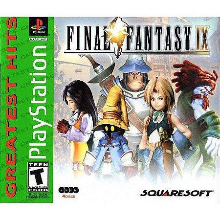 Final Fantasy IX Hits - PS1