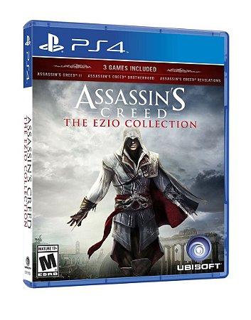 Assassin´s Creed: The Ezio Collection - PS4 (usado)