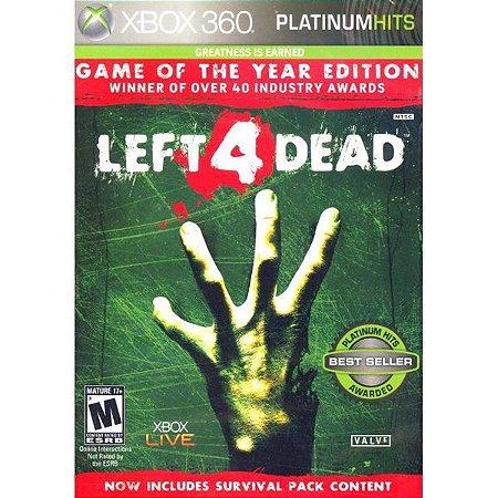 Left 4 Dead - Xbox 360 (usado)