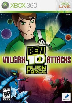 Ben 10 Alien Force: Vilgax Attacks - Xbox 360 (usado)