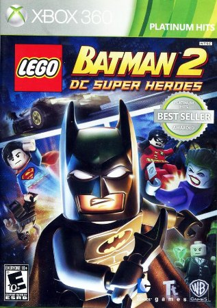 Lego Batman 2: DC Super Heroes - Xbox 360 (usado)