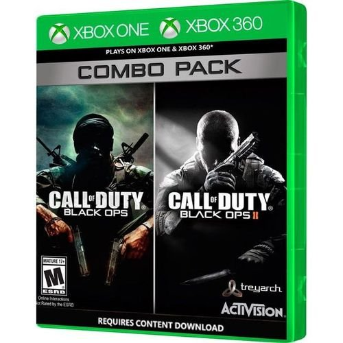 Call of Duty: Black Ops 1 e 2 Combo Pack - Xbox 360 (usado)