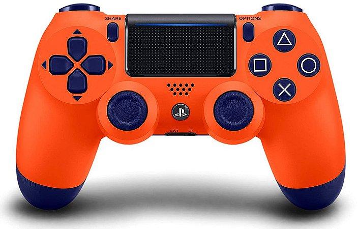Controle PS4 Dualshock 4 Sunset Orange CUH-ZCT2U
