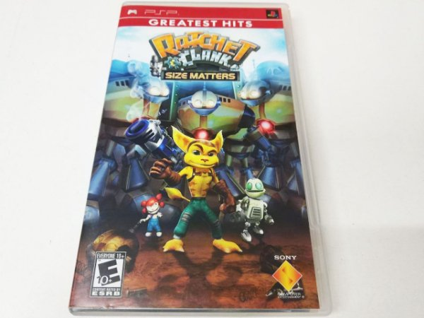 Ratchet e Clank: Size Matters Greatest Hits - PSP (usado)