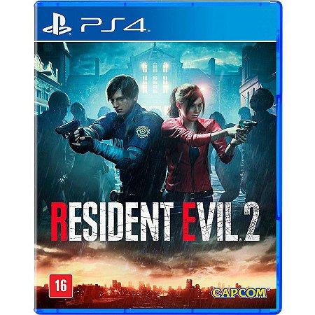 Resident Evil 2 - PS4 (usado)