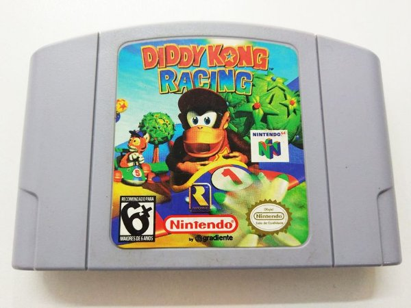 Diddy Kong Racing - N64 (usado)