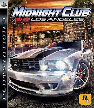 Midnight Club: Los Angeles - PS3 (usado)