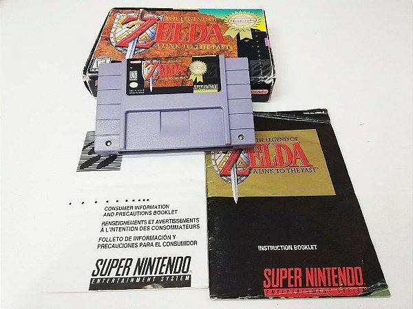 The Legend of Zelda: A Link to The Past - SNES (usado)