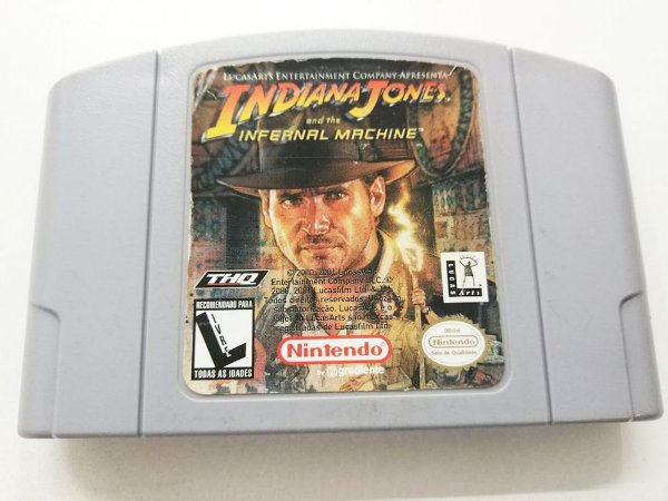 Indiana Jones: And The Infernal Machine - N64 (usado)