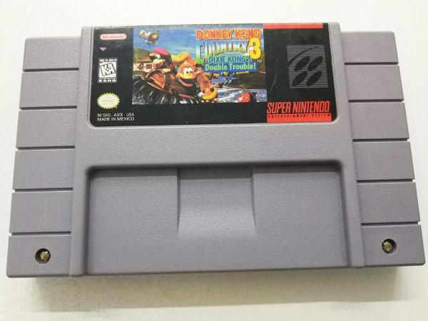 Donkey Kong Country 3: Dixie Kong´s Double Trouble - SNES (usado)