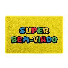 Super Bem Vindo: Capacho 60x40cm - Beek