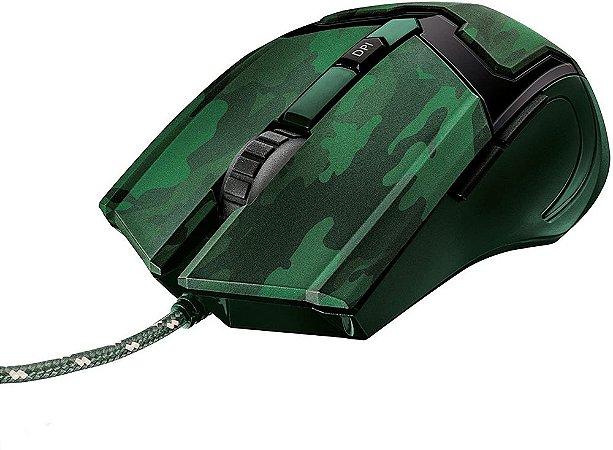 Mouse Gav Trust GXT-101C Jungle Camo 4800dpi USB