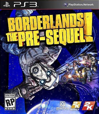 Borderlands: The Pre-Sequel - PS3 (usado)