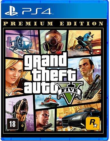 GTA V: Premium Edition - PS4