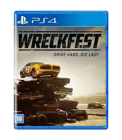 Wreckfest: Drive Hard. Die Last. - PS4