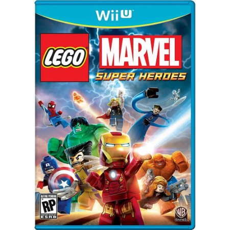 Lego Marvel Super Heroes - Wii U (usado)