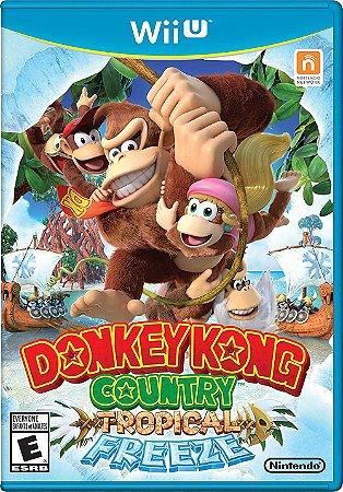 Donkey Kong Country: Tropical Freeze - Wii U (usado)