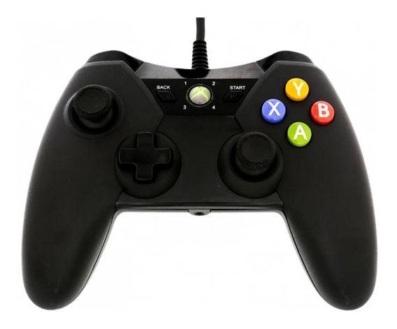 Controle Xbox 360 Power A Preto C/ Fio