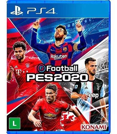 eFootball PES 2020 - PS4 (usado)