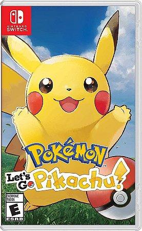 Pokemon: Let´s Go Pikachu - Switch (usado)