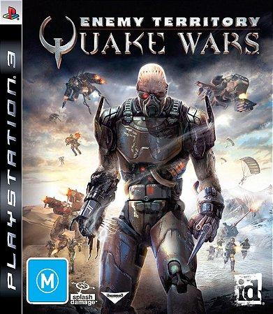 Enemy Territory: Quake Wars - PS3 (usado)
