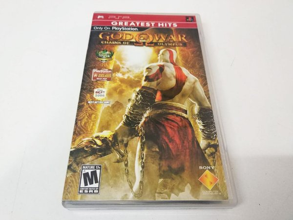 God of War: Chains of Olympus Greatest Hits - PSP (usado)
