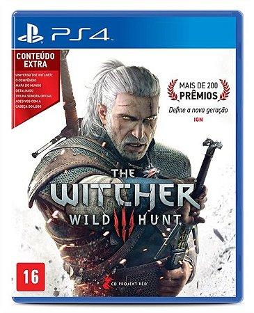 PS4 The Witcher III - Wild Hunt
