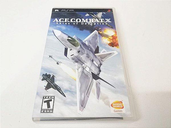 Ace Combat X: Skies of Deception - PSP (usado)