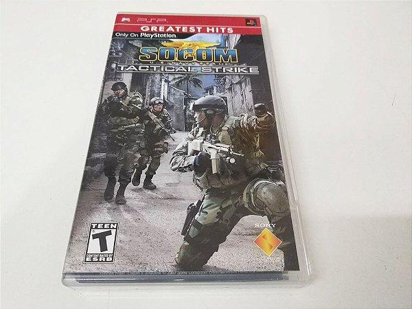 Socom: Tactical Strike Greatest Hits - PSP (usado)