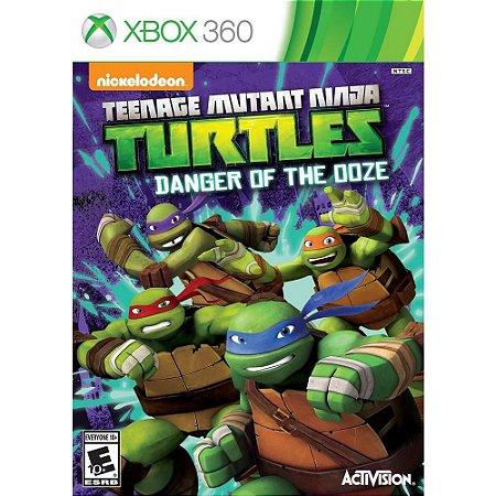 Teenage Mutant Ninja Turtles: Danger of The Ooze - Xbox 360 (usado)