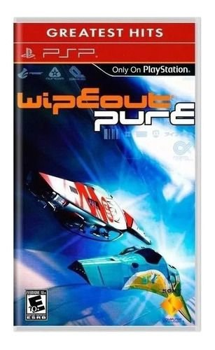 Wipeout Pure: Greatest Hits - PSP