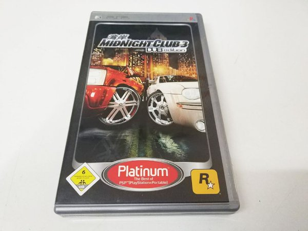 Midnight Club 3: DUB Edition Platinum - PSP (usado)