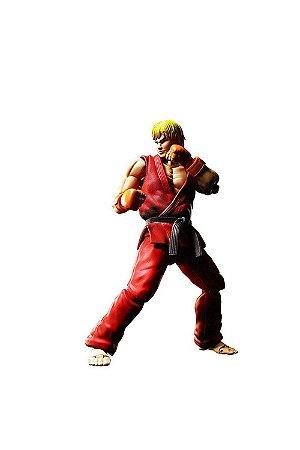 Ken Masters Nº07 Street Fighter: S.H.Figuarts - Bandai
