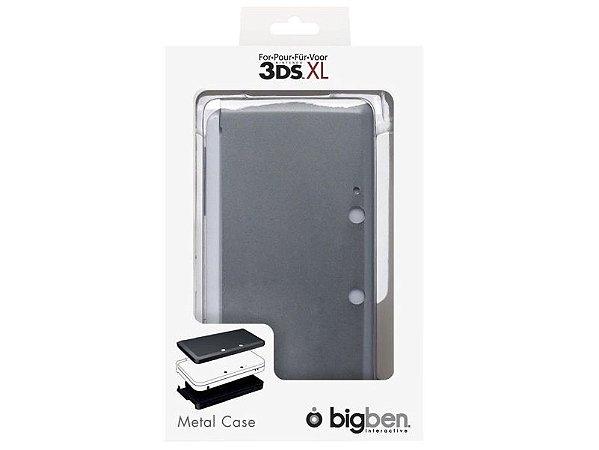 Metal Case 3DS XL Big Ben Cinza