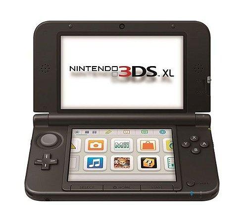 Nintendo 3DS XL Preto