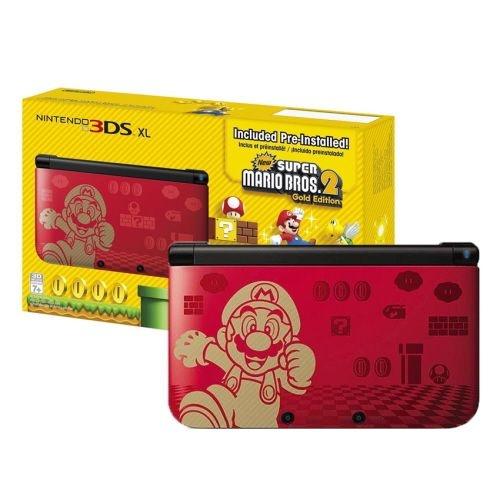 Nintendo 3ds XL New Super Mario Bros 2 Edition (Pré Instalado)