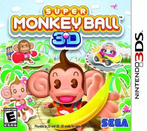 Super Monkey Ball 3D - 3DS