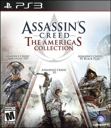 PS3 Assassin´s Creed - The Americas Collection