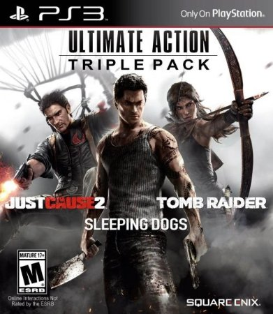 Ultimate Action Triple Pack Square Enix - PS3