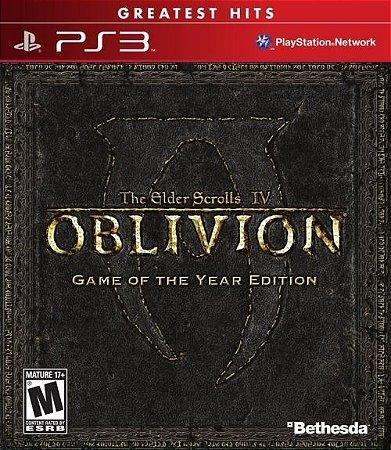 PS3 The Elder Scrolls - Oblivion IV GOTY Edition