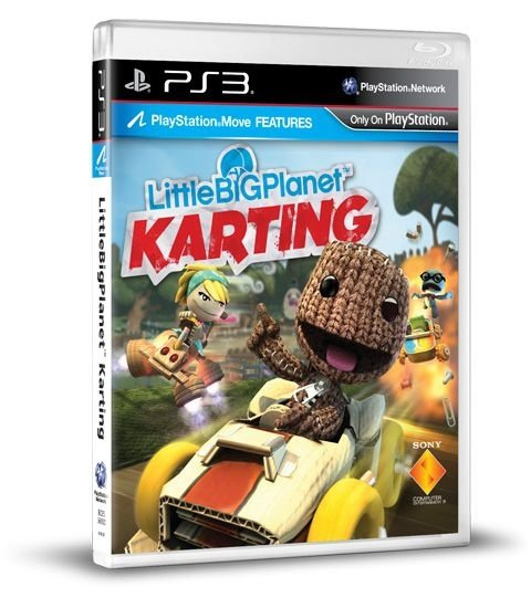 PS3 Little Big Planet - karting