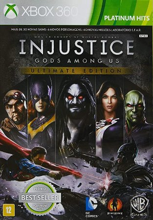 Injustice Gods Among US: Ultimate Edition Hits - Xbox 360 (usado)