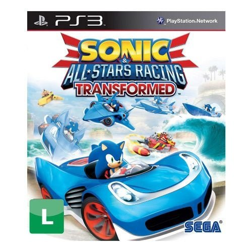 PS3 Sonic & All-Star Racing Transformed