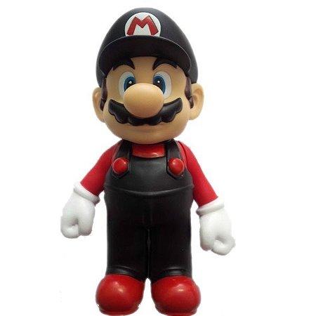 Mario Desktop Sofbi Series Preto/Vermelho
