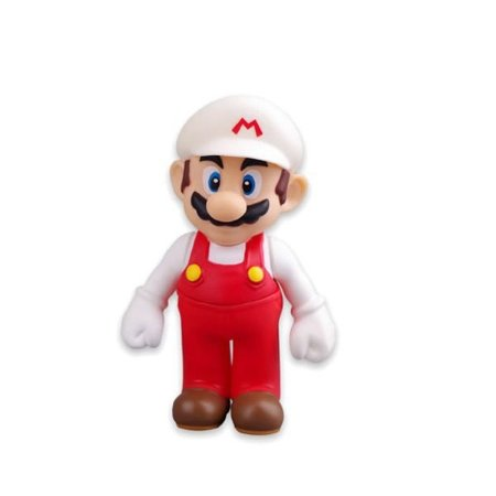 Mario Fire Desktop Sofbi Series Vermelho/Branco
