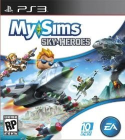 PS3 My Sims - Sky-Heroes
