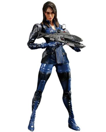 Ashley Williams: Mass Effect 3 - Play Arts