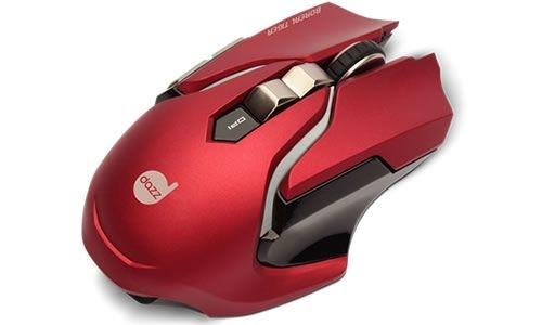 PC Mouse Gamer Boreal Tiger Vermelho 3500dpi USB Dazz