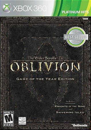 X360 The Elder Scrolls - Oblivion IV GOTY Edition